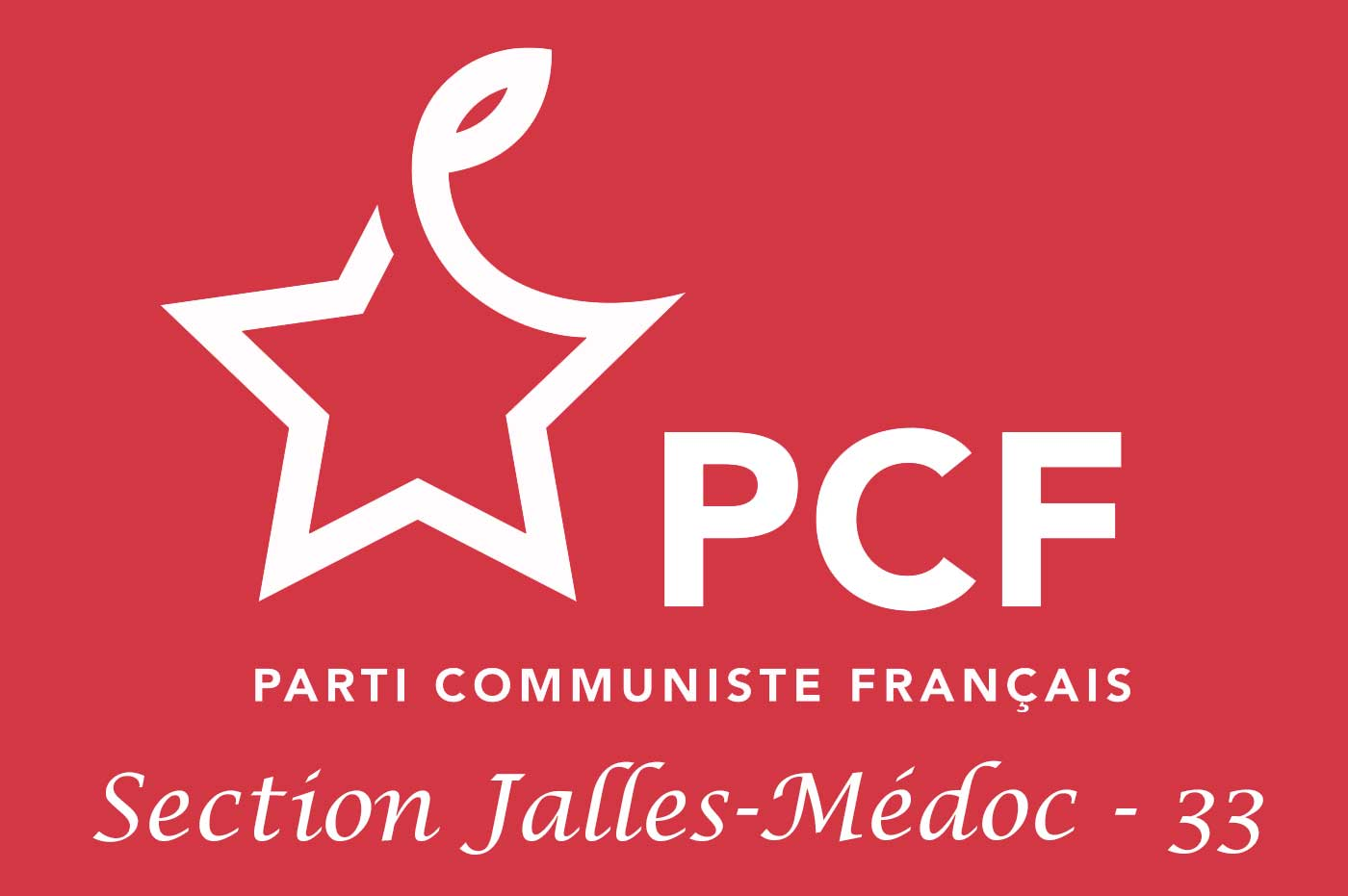 Logo PCF Jalles-Médoc